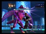 Xenosaga: Episode III - Also Sprach Zarathustra PlayStation 2 Attacking an enemy.