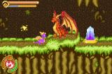 The Legend of Spyro: A New Beginning Game Boy Advance Ignitus teaches Spyro how to use his fire breaths