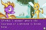 The Legend of Spyro: A New Beginning Game Boy Advance Spyro and Sparx get ready for more trouble