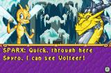 The Legend of Spyro: A New Beginning Game Boy Advance Time to rescue Volteer