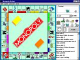 Monopoly Deluxe Windows 3.x Game play.