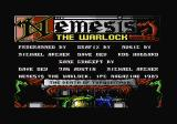 Nemesis the Warlock Commodore 64 Title/intro screen