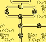 Tumble Pop Game Boy Level Map