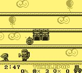 Tumble Pop Game Boy Game Play