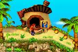 Crash Bandicoot 2: N-Tranced Game Boy Advance Starting the tutorial level (Island Intro).