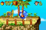 Crash Bandicoot 2: N-Tranced Game Boy Advance Now, Crash enters into the portal: Island Intro level clear!