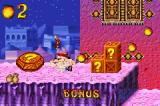 Crash Bandicoot 2: N-Tranced Game Boy Advance Crash starts to explore a Bonus Level: he must break all the crates on it to be successful!