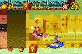 Crash Bandicoot 2: N-Tranced Game Boy Advance Riding the Magic Carpet: during this brief time, Crash is rewarded with some helpful powers...