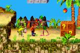 Crash Bandicoot 2: N-Tranced Game Boy Advance Crash is suddenly surrounded by two natives: this is the best time to use one of his attacks...
