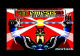 Nemesis the Warlock Amstrad CPC Loading screen