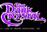Hi-Res Adventure #6: The Dark Crystal Apple II Title screen.