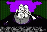 Hi-Res Adventure #6: The Dark Crystal Apple II Paddlin' through the swamps.