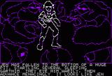 Hi-Res Adventure #6: The Dark Crystal Apple II Alone now, confronting a horde of Garthim. I guess they don't want to play ping-pong.