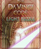 The Da Vinci Code: Light Puzzle J2ME Title screen