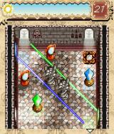 The Da Vinci Code: Light Puzzle J2ME Some puzzles have multiple beams in different colours.