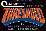 Threshold Apple II Title screen.