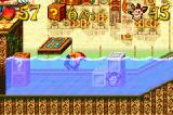 Crash Bandicoot 2: N-Tranced Game Boy Advance Players must be careful during water sections, because the danger could be sudden-imminent!
