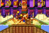 Crash Bandicoot 2: N-Tranced Game Boy Advance Another Bonus Level in progress: and Crash uses again his Sliding Move to break lots of crates...