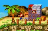 Crash Bandicoot 2: N-Tranced Game Boy Advance Crash sees a big pile of crates in his front: which will be the best method to smash all of it?