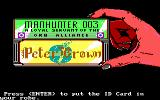 Manhunter 2: San Francisco DOS An ID card