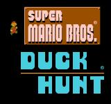 Super Mario Bros. / Duck Hunt NES Game Select Screen