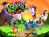 Tonic Trouble Nintendo 64 Title screen.