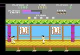 Kung-Fu Master Atari 7800 First floor boss.