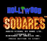 Hollywood Squares NES Title screen