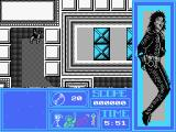 Moonwalker MSX The beginning of the game