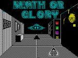Death or Glory ZX Spectrum Loading screen