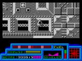 Death or Glory ZX Spectrum The mothership section - press fire to destroy the squares