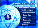 International Superstar Soccer 2000 Nintendo 64 Menu screen.