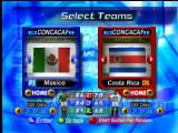 International Superstar Soccer 2000 Nintendo 64 Team selection.
