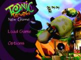 Tonic Trouble Nintendo 64 Main menu.