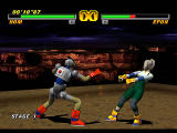 Tobal 2 PlayStation Arcade mode