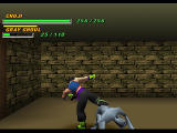 Tobal 2 PlayStation Quest mode