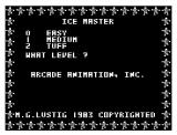 Ice Master Dragon 32/64 Title screen