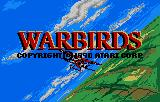 Warbirds Lynx Title screen