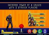 "The King of Fighters 2001 Neo Geo The old-skool ""How To Play"" screen: learn some basic commands plus a new Ratio-like Mode!"