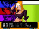 The King of Fighters 2001 Neo Geo Victory screen.
