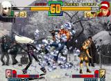 The King of Fighters 2001 Neo Geo After some time, Terry Bogard escapes (damaged, of course!) from Kula's closing move Ice Coffin...