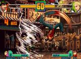 The King of Fighters 2001 Neo Geo Choi's DM Shin! Chouzetsu Tatsumaki Shinkuu Zan and Robert's Ryuu Zanshou teamed-up against Andy...