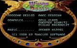 Wings of Death Amiga Info screen