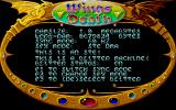 Wings of Death Atari ST The game recognises and adapts itself to your hardware