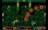 Wings of Death Atari ST A trail of red blobs try to ram you