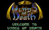 Wings of Death Atari ST Title screen