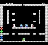 Bubble Bobble NES Starting level eight.