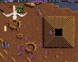Lethal Xcess: Wings of Death II Amiga Small creatures come squirming out of the pyramid