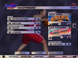 NBA Live 2000 Windows Main menu