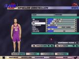 NBA Live 2000 Windows Creating a custom player